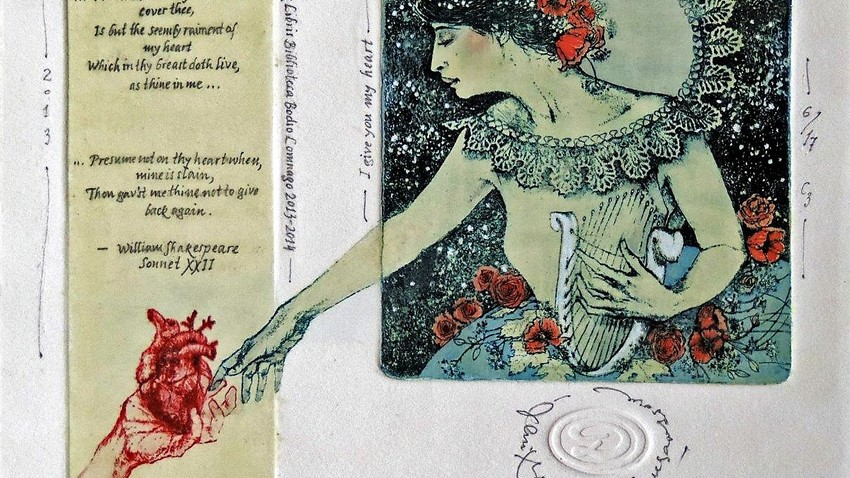 Eva - La Donna Eterna | Italian Association Ex Libris