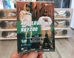 Apollo Brown & Skyzoo live in Athens!