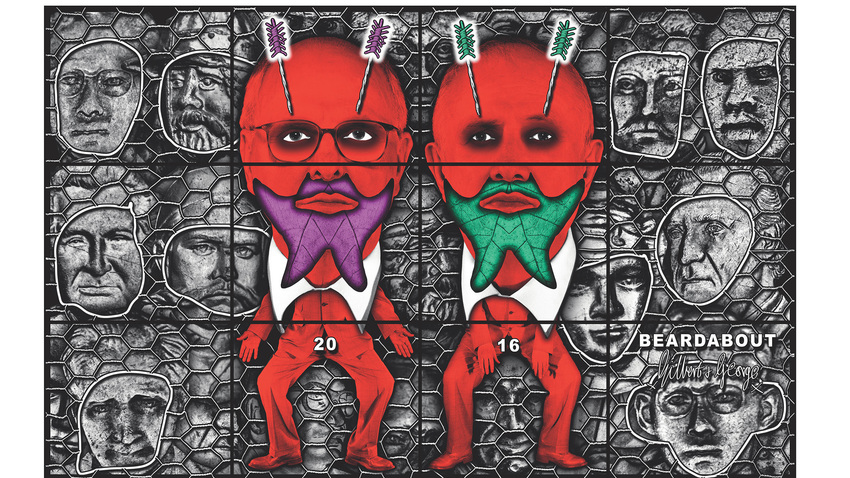 GILBERT & GEORGE | THE BEARD PICTURES