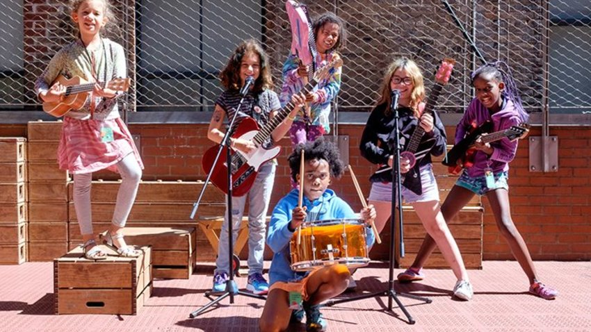 Willie Mae Rock Camp for Girls: The Concert