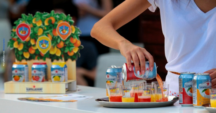 Sanpellegrino Sparkling Fruit Beverages: «The Life Deliziosa» στο καλοκαιρινό Street Food andTunes