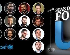 Stand up for U 2017: Μαραθώνιος κωμωδίας για την ενίσχυση της Unicef