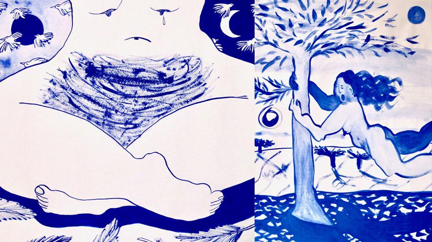 ΕΛΛΗΝΙΔΑ ΜΑΝΑ | Αριάδνη Στροφύλλα - Ατομική έκθεση