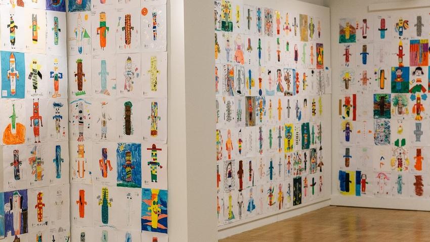 Δες το ειδώλιο αλλιώς   Έκθεση των έργων του παιδικού διαγωνισμού