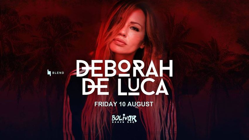 Blend with Deborah De Luca I Bolivar Βeach Bar
