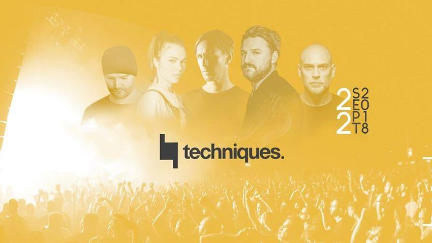Techniques 2018 // Nina Kraviz, Richie Hawtin, Solomun