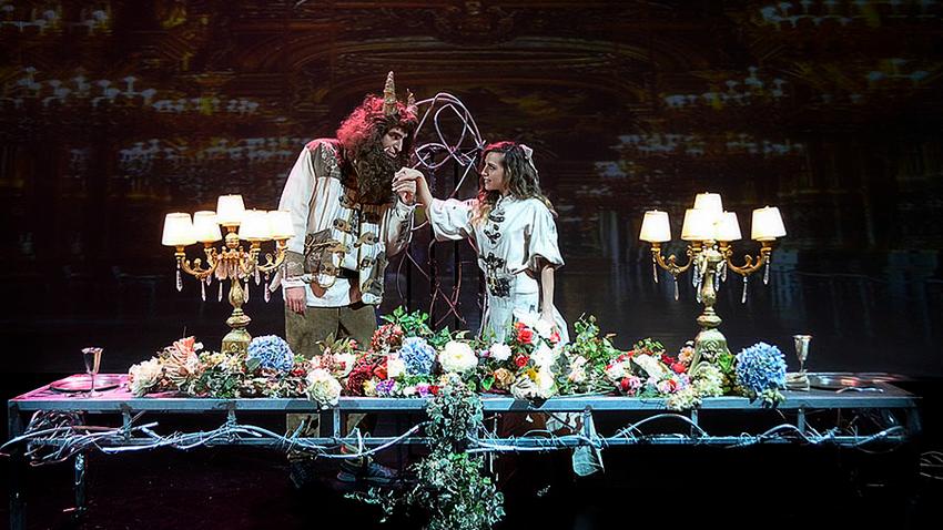 Η Πεντάμορφη και το Τέρας | Θέατρο Βασιλάκου