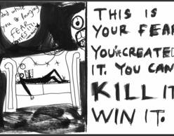 Kill fears: Eικαστική διαδραστική εγκατάσταση στο Ρομάντσο!