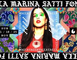 Μαρίνα Σάττι & fonέs YALLA live στο six d.o.g.s!