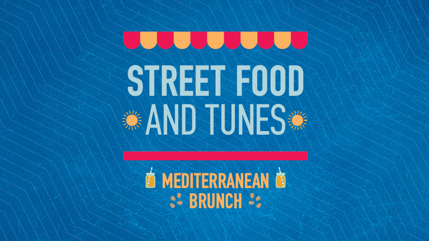 Street food and tunes: Mediterranean Brunch
