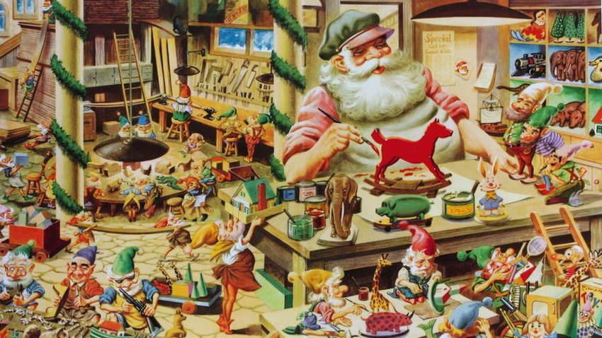 Η Επέλαση των Ξωτικών | Χριστουγεννιάτικο Χωριό στην Τεχνόπολη