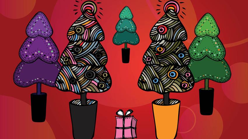 Χριστουγεννιάτικη γιορτή στην πλατεία Κουμουνδούρου