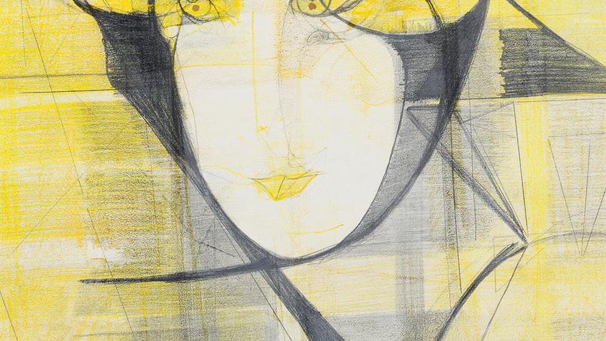 Marisa Merz at Bernier/Eliades gallery