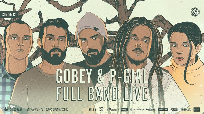 Gobey & P-Gia fullband | six d.o.g.s