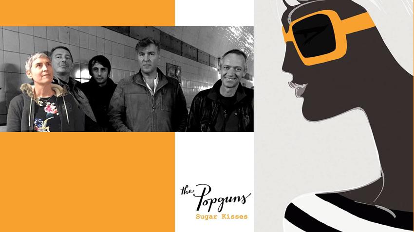 The Popguns & Next Time Passions live στο six d.o.g.s!