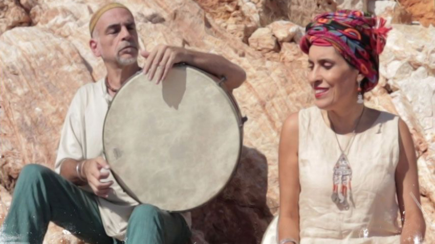 Lamia Bedioui και Σόλης Μπαρκής   Fin' amor