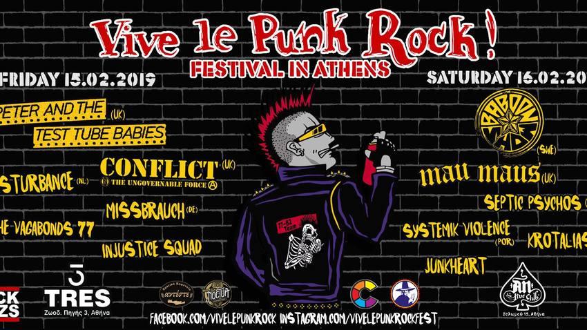 Vive Le Punk Rock // Festival In Athens @ AN club!