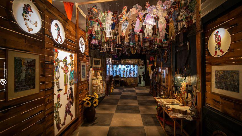 Το σπίτι του Καραγκιόζη | βιωματική εμπειρία και παράσταση στο Μέγαρο