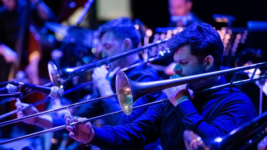 Brass and Jazz με την Athens Big Band w/ R. Witzel & D. Papadopoulos