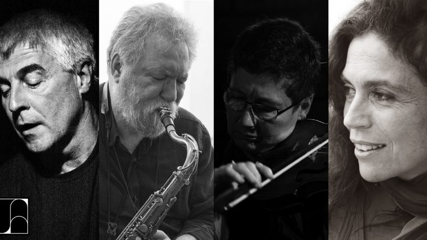 Maya Homburger, Barry Guy, Evan Parker & Σαβίνα Γιαννάτου