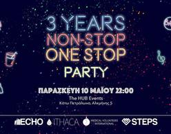 3 Years Non-Stop One Stop Party στο Hub Events