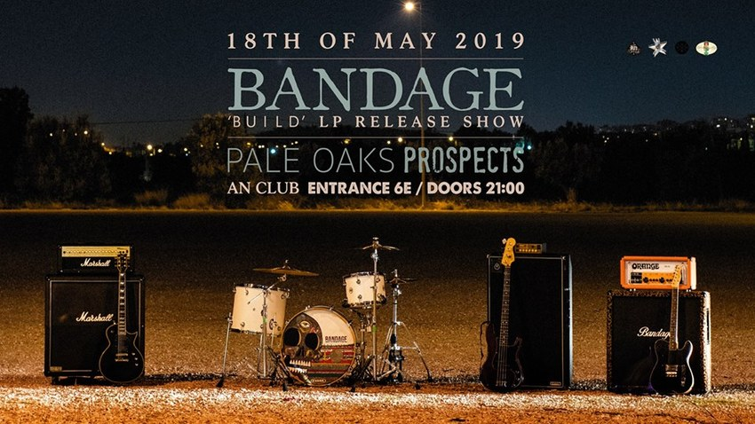 "Bandage - ""Build"" LP Release Show 