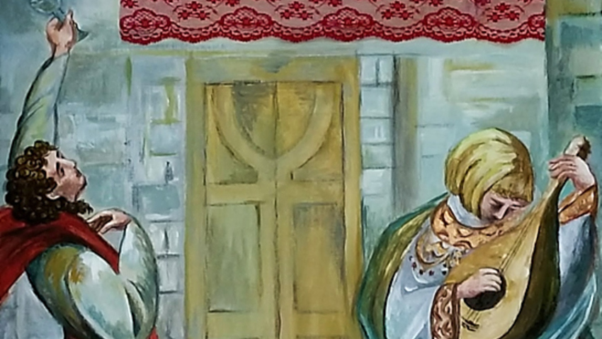 Σκηνές από τον Ερωτόκριτο | Ομαδική έκθεση ζωγραφικής