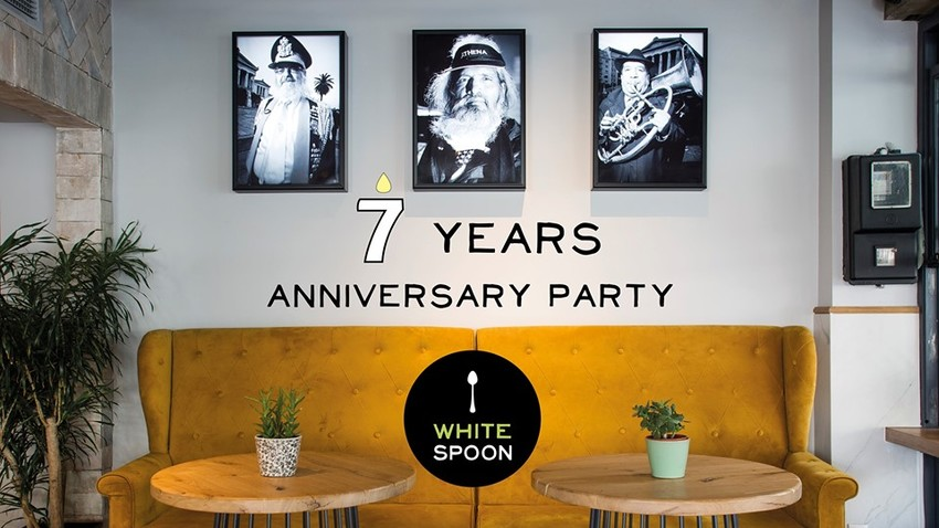 White Spoon 7 years anniversary party!