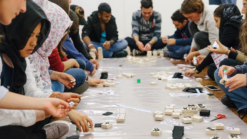«Όλοι Μαζί Παρέα στο Μουσείο»   Έκθεση με έργα προσφύγων και Ελλήνων μαθητών