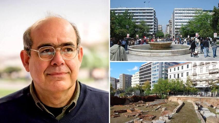 Περίπατος με τον καθηγητή αρχιτεκτονικής Παναγιώτη Τουρνικιώτη