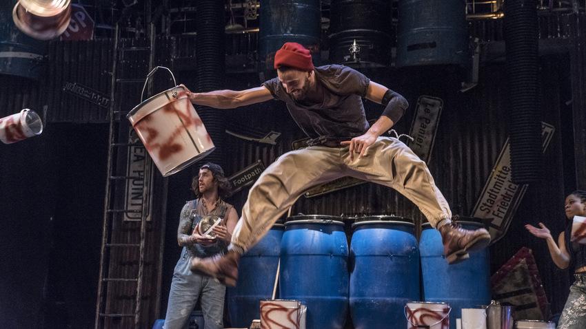 STOMP: Οι βασιλιάδες του ρυθμού στο Θέατρο Βράχων