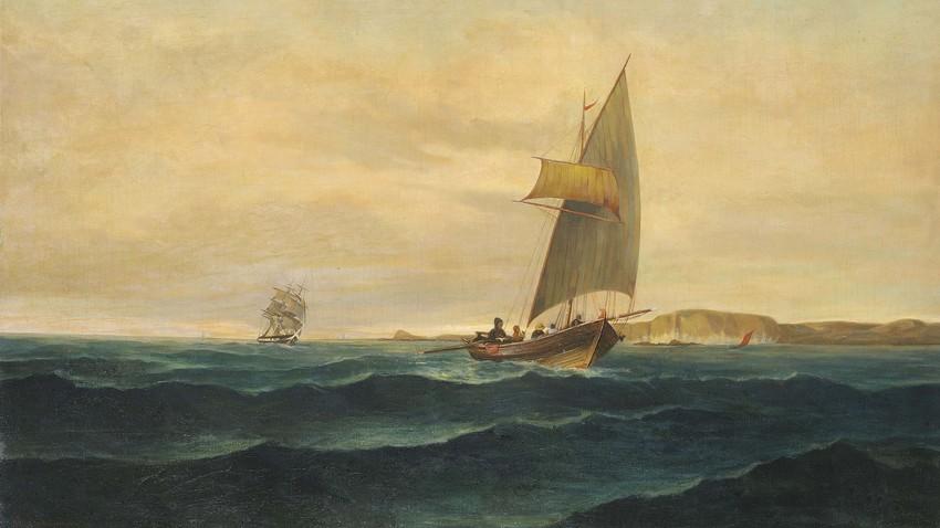 Κωνσταντίνος Βολανάκης. Ο πατέρας της ελληνικής θαλασσογραφίας