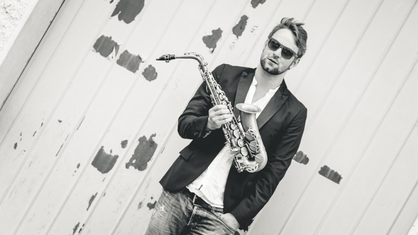 O rockstar του σαξοφώνου, Max the Sax, στο Gazarte!