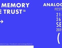 ΔΙΕΘΝΕΣ  ΦΕΣΤΙΒΑΛ  ΑΝΑΛΟΓΙΟ  2019: In memory we trust