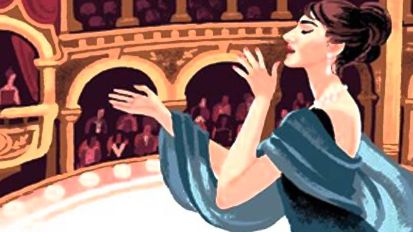 Κυνηγώντας το Μύθο!   Οι μαθητές γνωρίζουν τη Μαρία Κάλλας στο θέατρο Ολύμπια