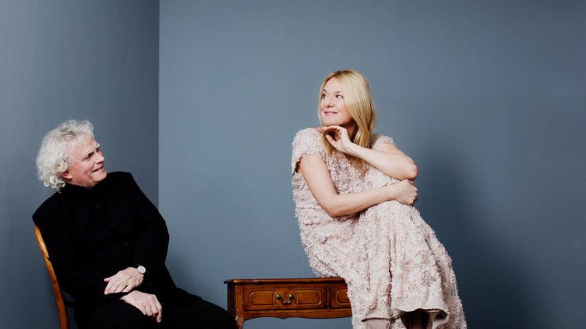 Magdalena Kožená και Sir Simon Rattle σε ένα ρεσιτάλ κλασικού τραγουδιού