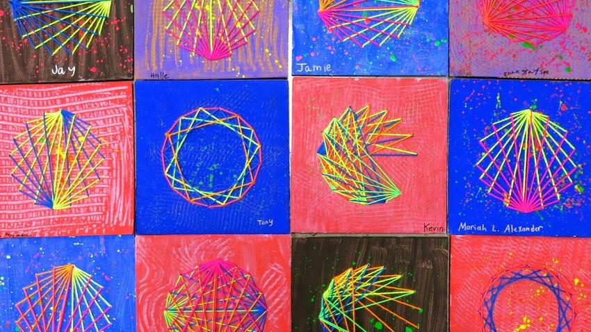 Δημιουργικό εργαστήρι String Art στο hello kids