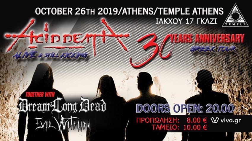 Acid Death 30Y Anniversary | Temple