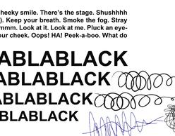 BlaBlaBlack | Εικαστική έκθεση στη θρυλική Rebound!