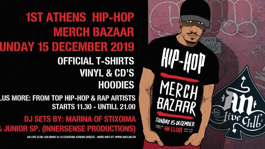 1st Athens Hip-Hop Merch Of The Bands Bazaar