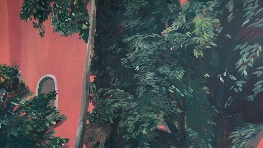 Farida El Gazzar :: Night Garden