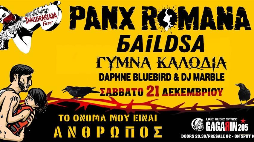 Immigraniada Festival :: Αντιγιορτή με Panx Romana κ.α.