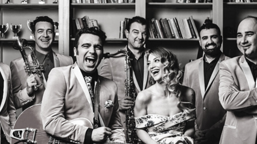 The Swingin' Cats Xmas Edition | Gazarte Roof Stage
