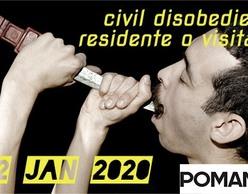 «Πολιτική ανυπακοή: μόνιμος κάτοικος ή επισκέπτης» στο Ρομάντσο