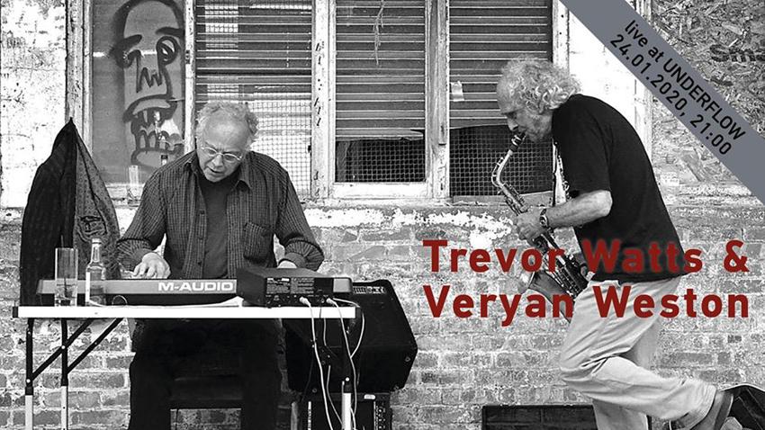 Οι Trevor Watts & Veryan Weston ζωντανά στο Underflow