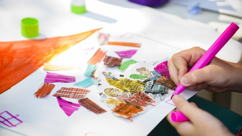 «Στον πύργο του εργοστασίου», μικροί καλλιτέχνες εν δράσει!