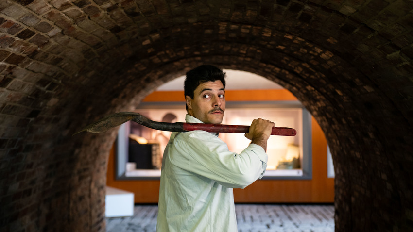 Flash Back στο Γκάζι | Ξενάγηση & Θεατρικό δρώμενο