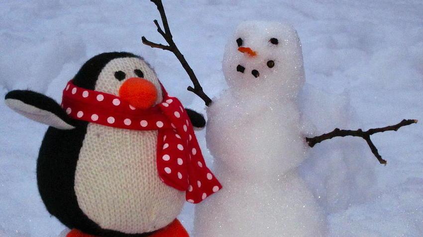 Χιονάνθρωποι και Πιγκουίνοι   Εκπαιδευτικό εργαστήρι για παιδιά 4-8 ετών