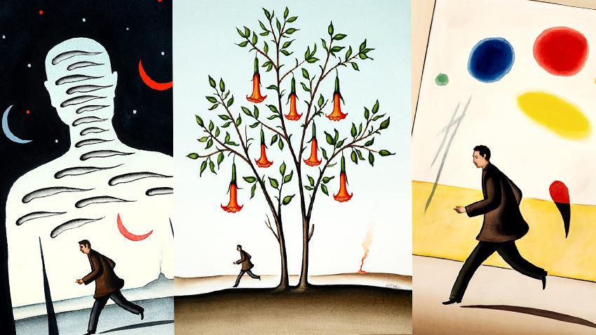 Δημήτρης Γέρος | Ατομική έκθεση ζωγραφικής 1993-2019