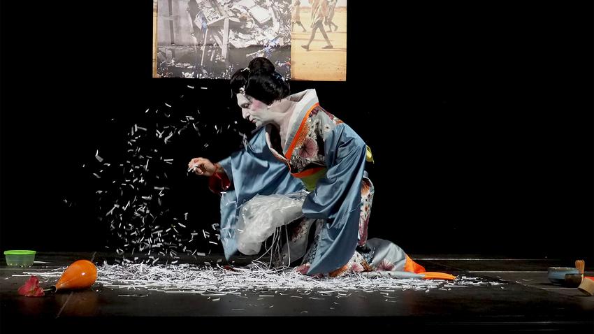 Tea Ceremony   Devised performance από το διεθνές Ensemble SRSLYyours
